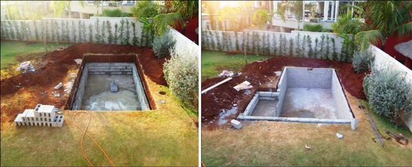 Дренажна яма, опалубка для бетонування