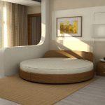 Спальня з круглим ліжком
