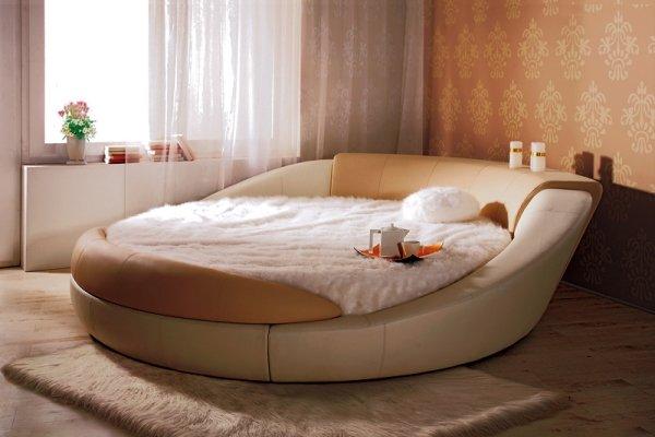 кругле ліжко