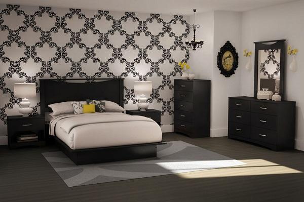 спальня в стилі модерн фото
