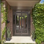 Двері, в конструкції яких використовується багато скла