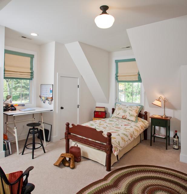 Римські штори в спальні