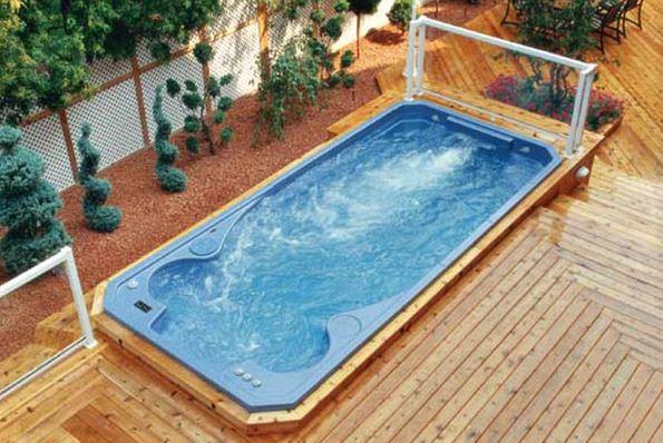 Плавальні басейни з протитечією