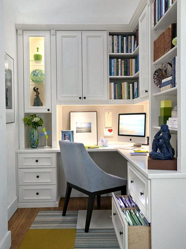 Компактное размещение рабочего пространства