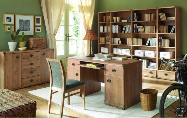 Модульная мебель для домашнего кабинета