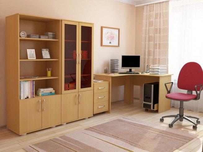 Корпусная мебель для домашнего кабинета