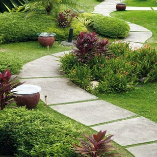 Найкращі матеріали для створення садових доріжок