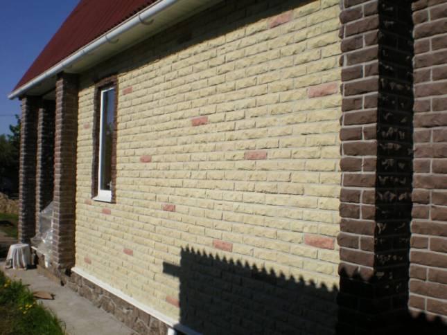 Панели фасадные под кирпич