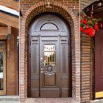 металлические двери входные для частного дома фото