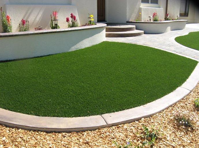 Где используют искусственный газон