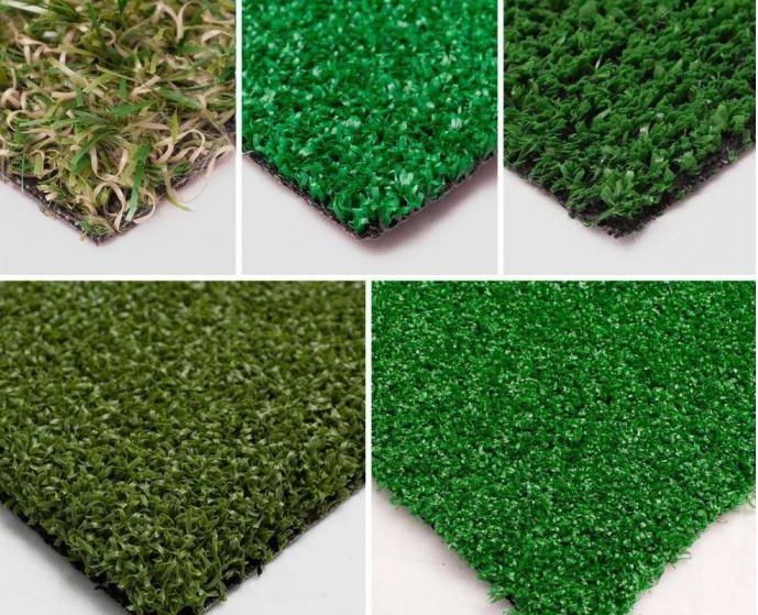 виды искусственного газона