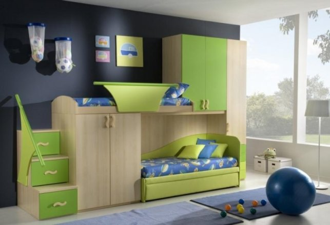 мебель в детскую для двух мальчиков