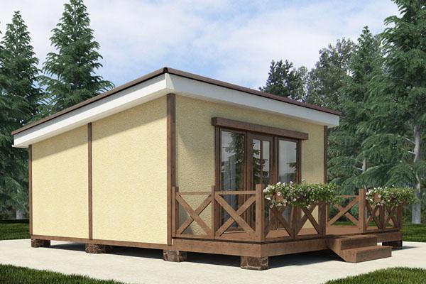 дачный дом из СИП-панелей