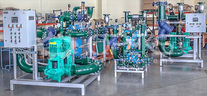Модульные тепловые пункты производства ОПЭКС Энергосистемы