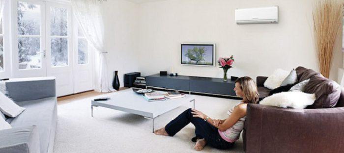 Комфортный микроклимат в доме при помощи кондиционера