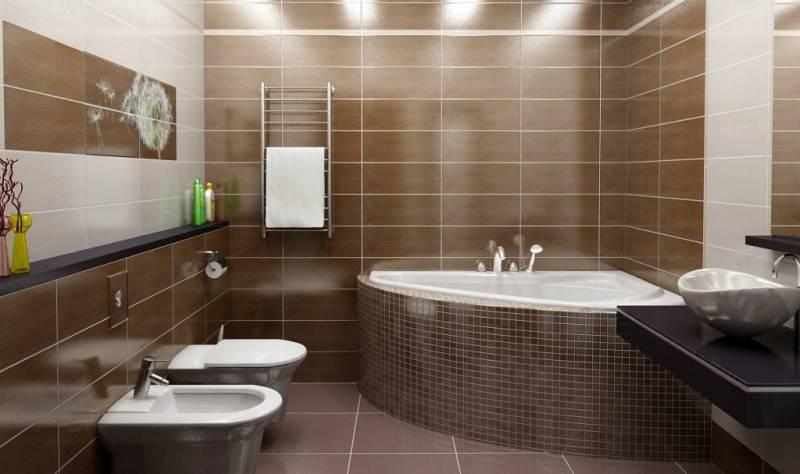 Современная ванная комната: новые виды сантехники