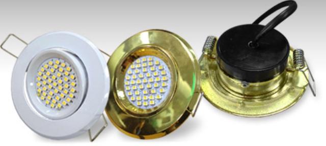 Точечные светодиодные светильники для потолков