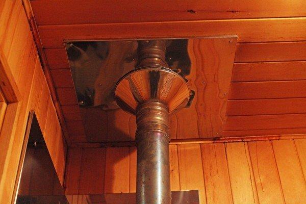 Труба дымохода для бани