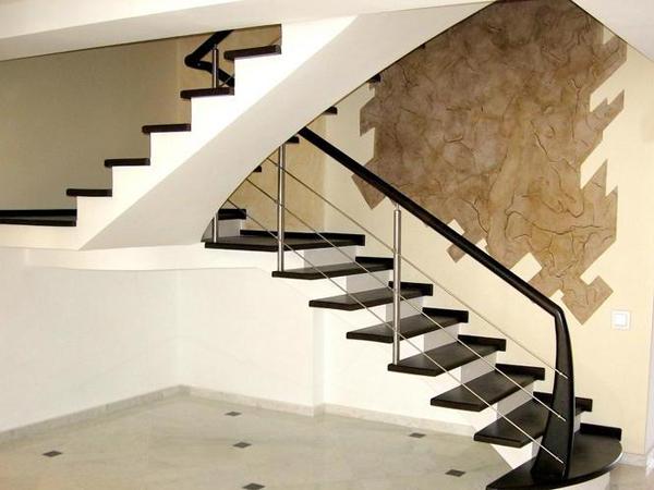 Бетонные лестницы для дома