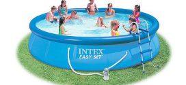 Какой бассейн лучше — надувной или каркасный?