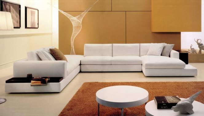 Диван в гостиную в современном стиле