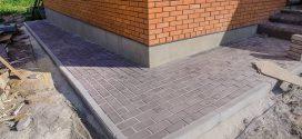 Вимощення навколо дому з тротуарної плитки. Особливості технології та порядок роботи