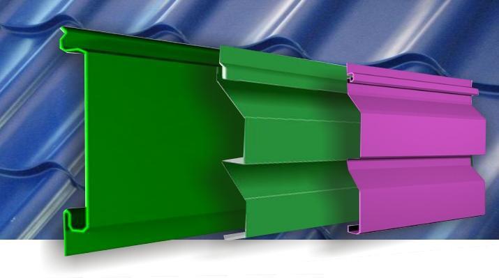 Металевий сайдинг виготовляється з холоднокатаної сталі