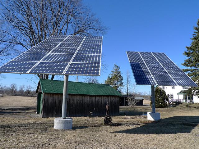 сонячні батареї місце встановлення