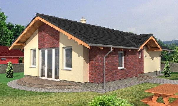Дом из пено- и газобетона