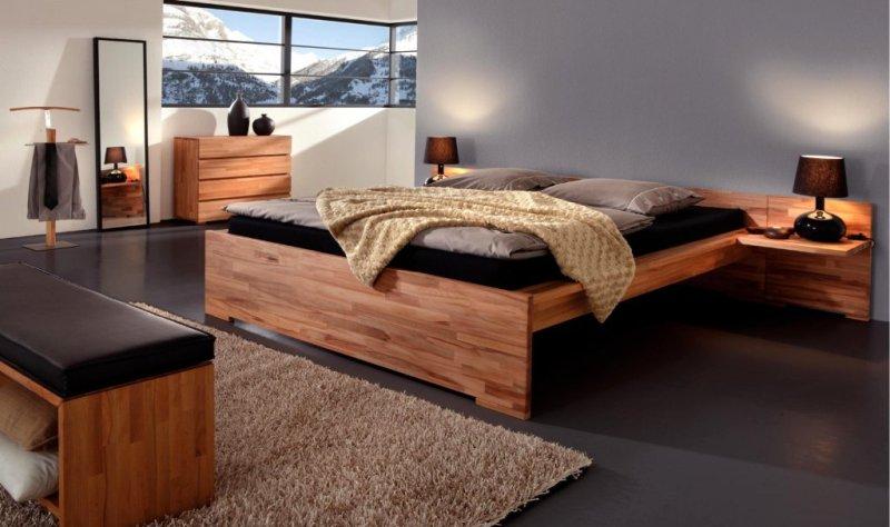 Кровати из дерева и их особенности