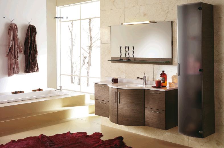 дизайнерская мебель и аксессуары для ванных