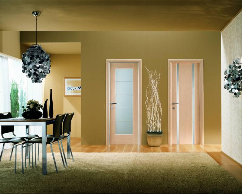 Фото межкомнатных дверей в интерьере квартир