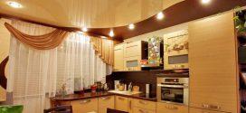 Какие натяжные потолки лучше для кухни