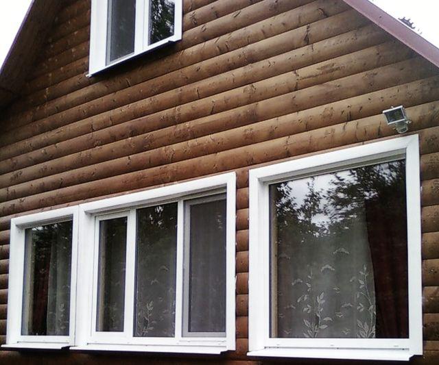 Готовые пластиковые окна для дачи