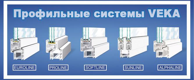 Пластиковые окна ПВХ из профиля VEKA