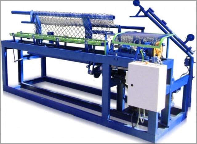 станок автомат для изготовление сетки рабицы