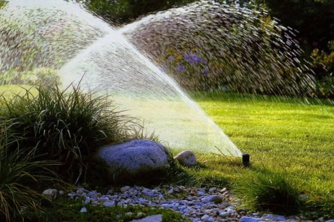 Виды и особенности дождевателей для полива садового участка