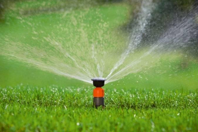 Выдвижные дождеватели для система полива