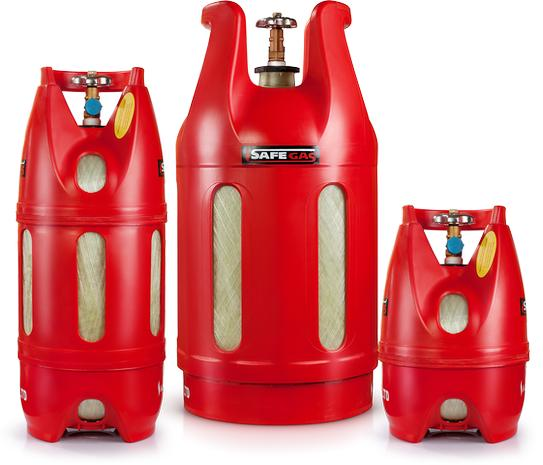 Газовый баллон Safegas для дачи