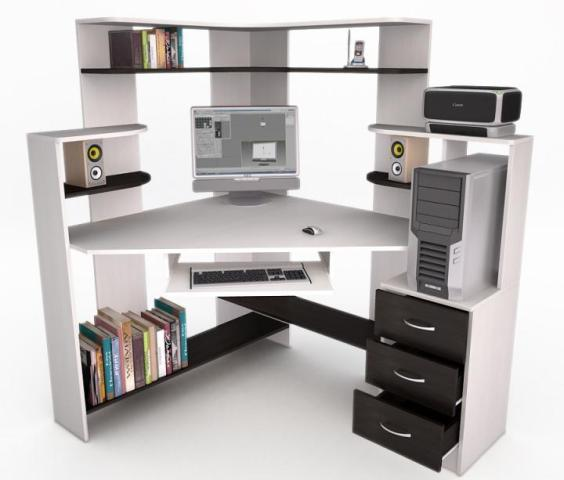 Компьютерный стол - Флеш 34