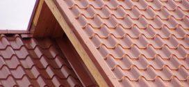 Крыша из металлочерепицы: ее основные преимущества