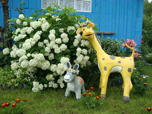 Садові фігури з гіпсу