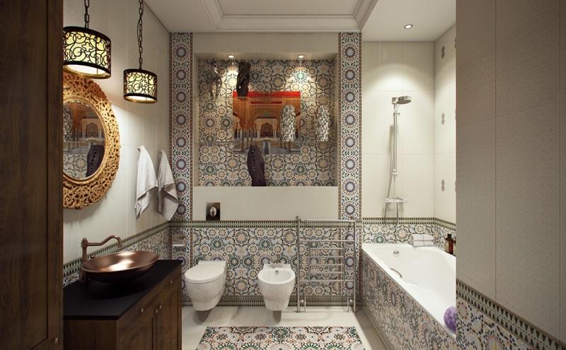 сантехника для ванной в восточном стиле