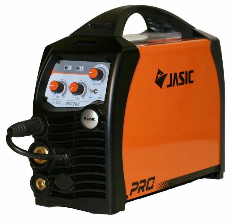 Сварочный инвертор полуавтомат JASIC MIG 200
