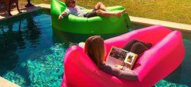 Lamzac Hangout (Ламзак) – надувний шезлонг, крісло-диван та підлога в одній речі!