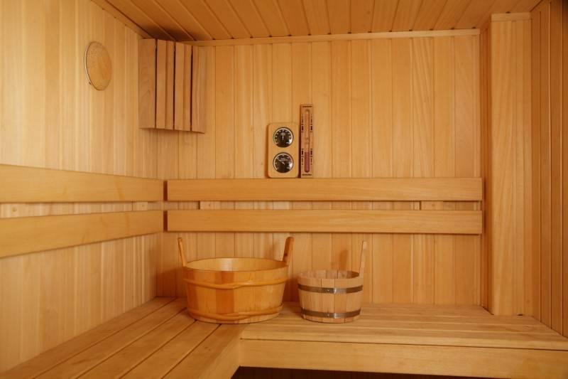 Внутренняя обшивка бани вагонкой