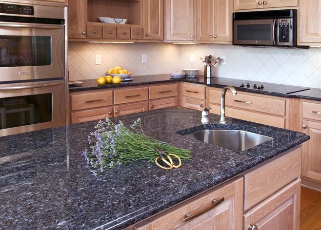 Гранитные столешницы для кухонного гарнитура