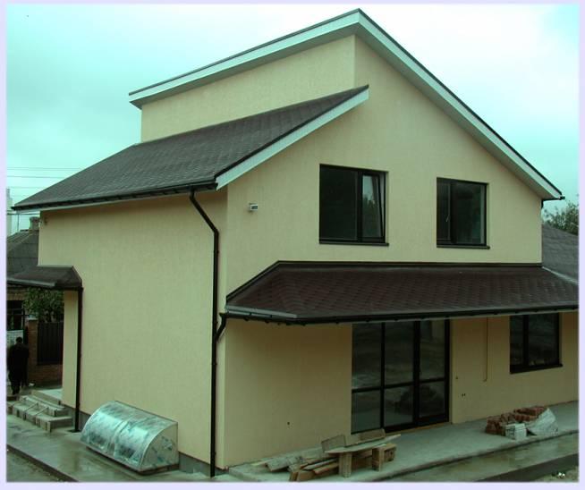 Преимущества односкатной крыши для дома