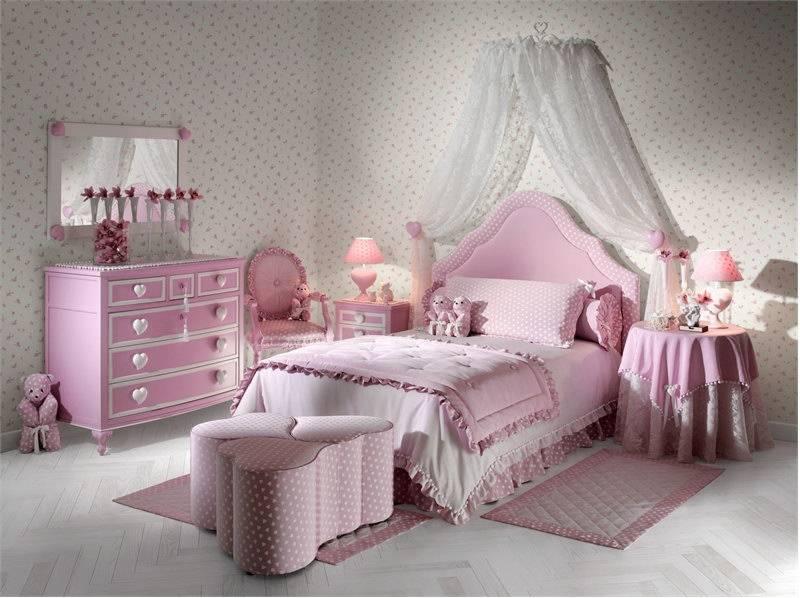 Як організувати дизайн спальні для дівчинки
