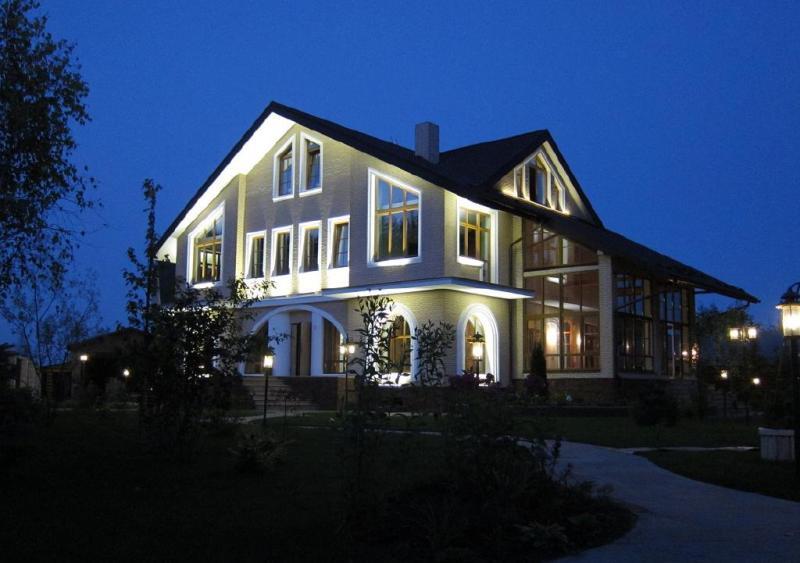 Светодиодное освещение фасадов
